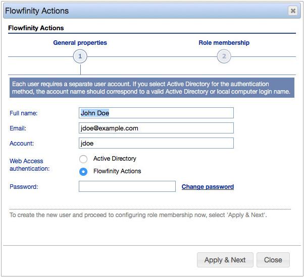Flowfinity - Add new users